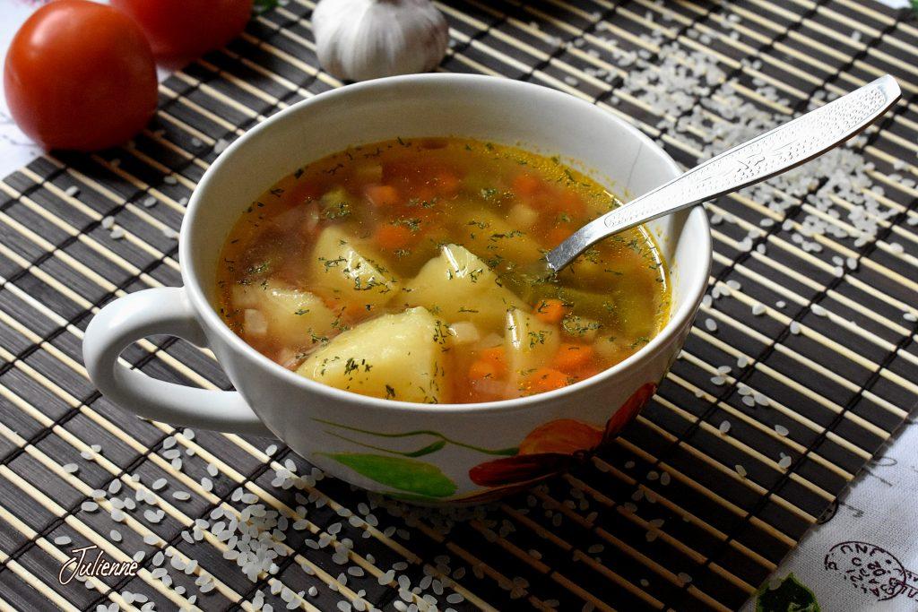 ciorba de legume bol